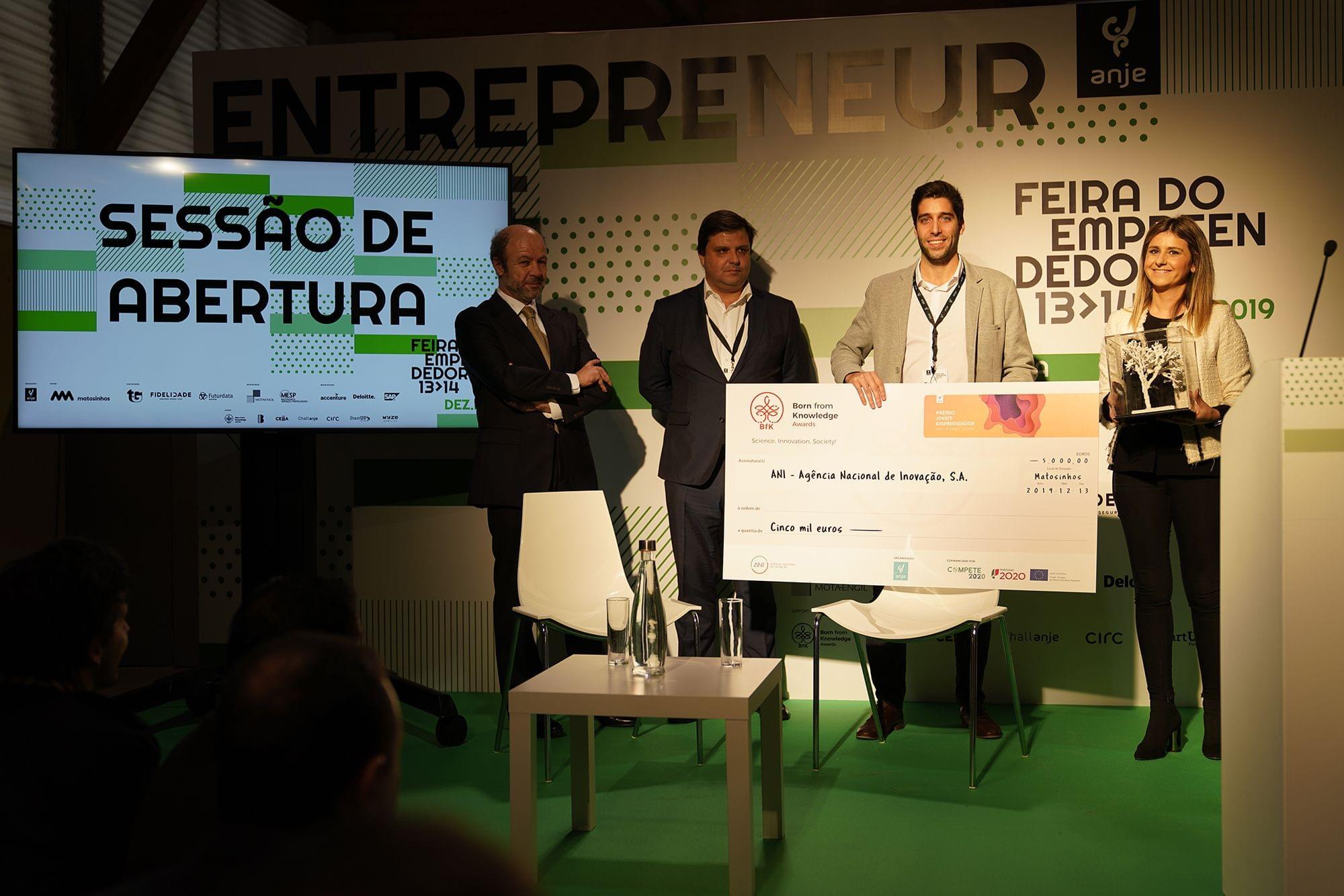 Agência Nacional de Inovação atribui distinção à YData