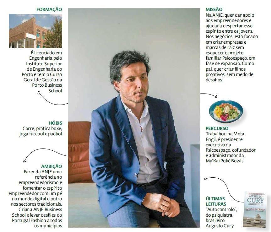 Alexandre Meireles, 38 anos é o Novo Presidente da ANJE